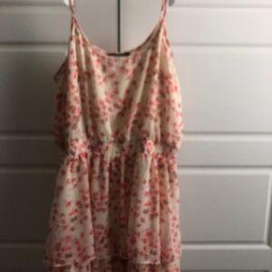 Express floral sun dress, worn once EUC
